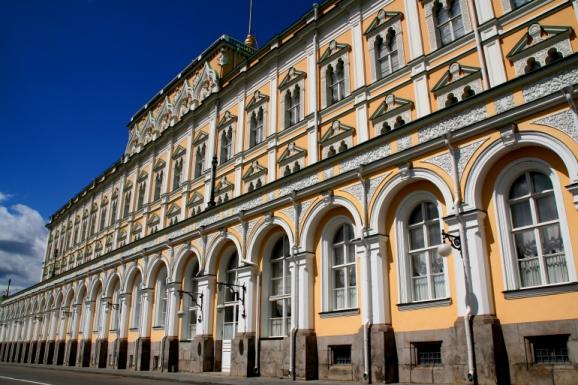 The Kremlin - Russian visa support needed